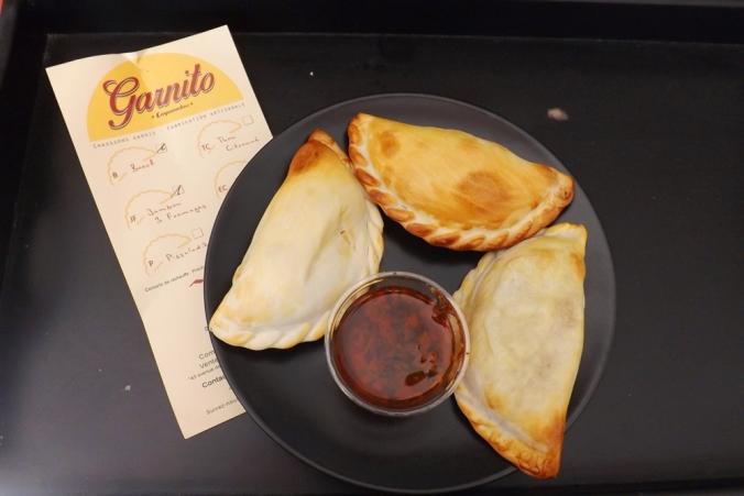 empanadas garnito et sauce chimichurri