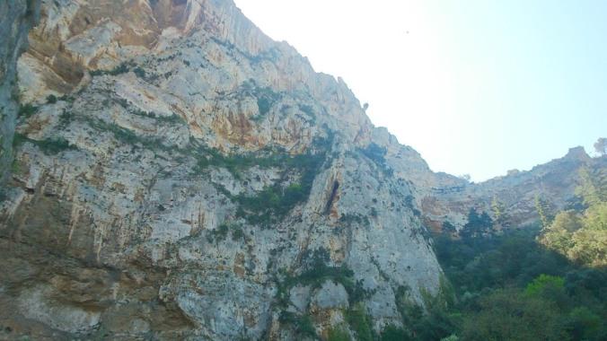 falaise de Fontaine-de-Vaucluse