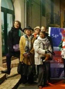 Flavia et les chroniqueurs culturels pezenas