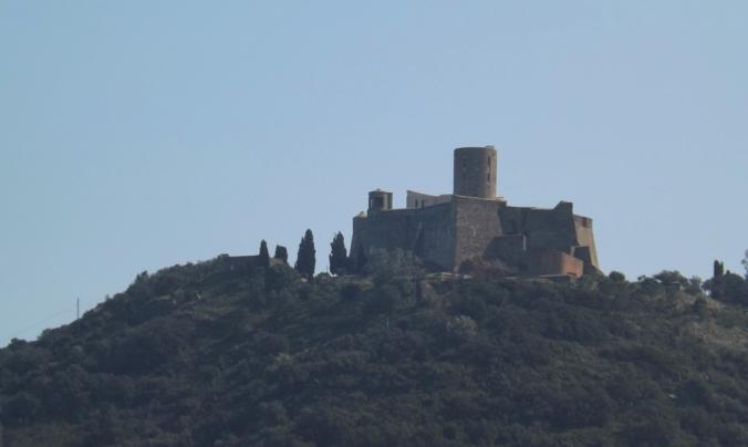 fort st elme vu depuis le chateau royal de Collioure