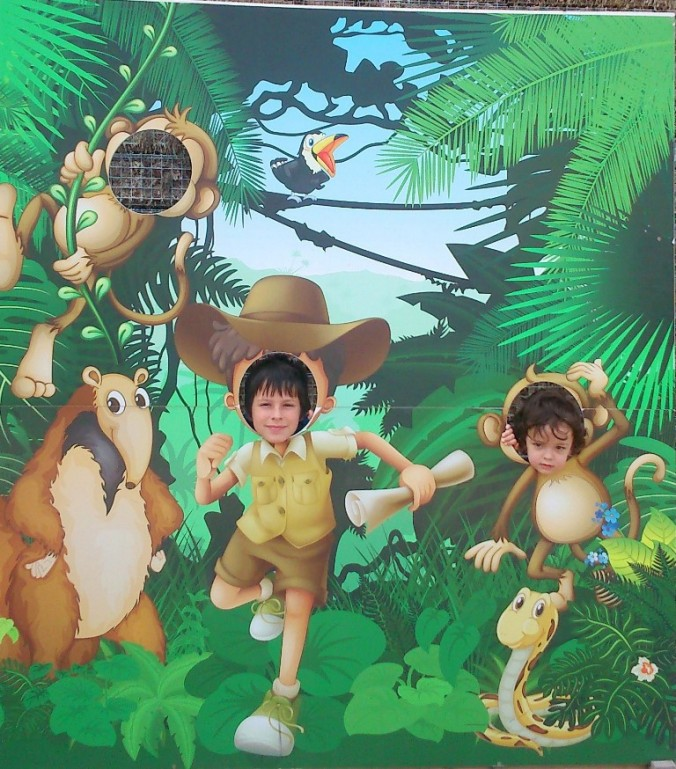 franck et matthieu photobooth foret amazonienne montpellier