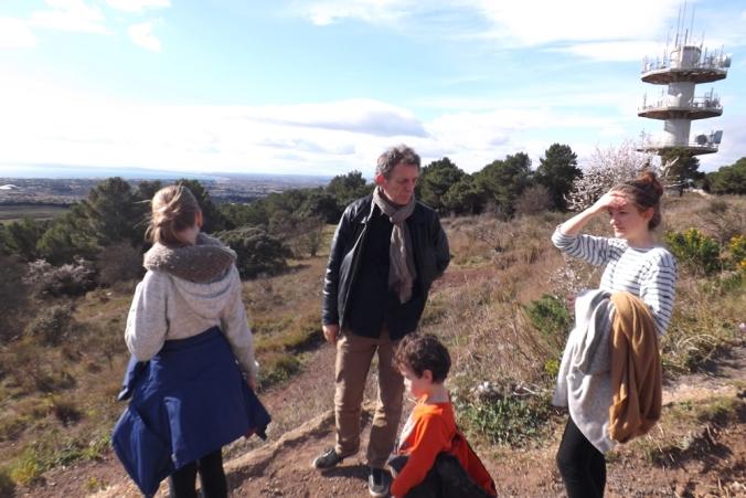 fred et les enfants au mont saint loup