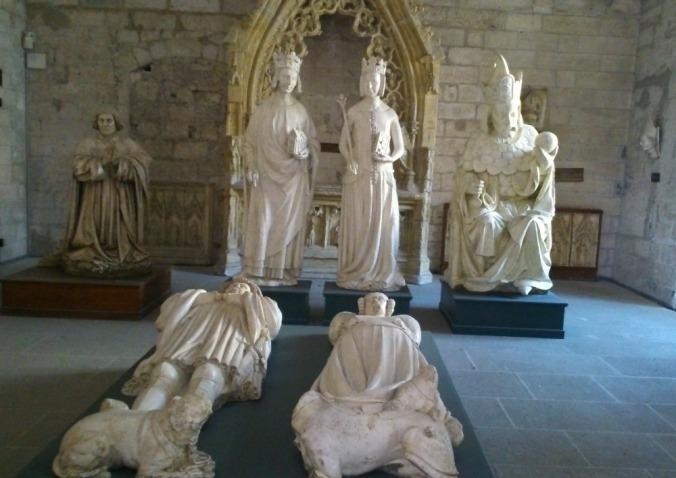 gisants palais des papes avignon