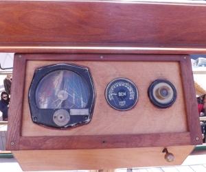 instrument de mesure sur le voilier polonais