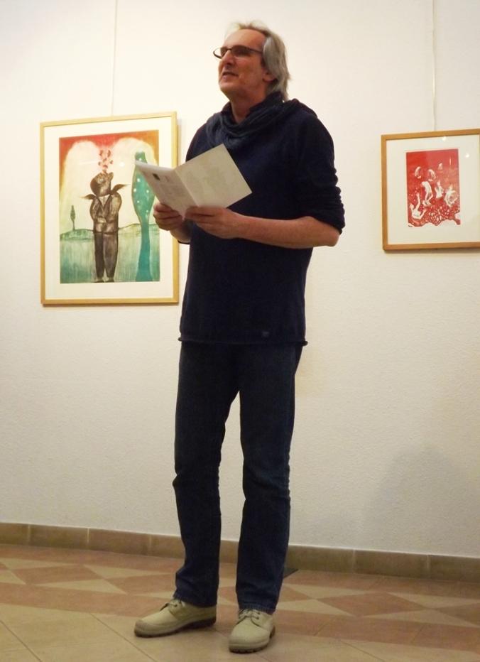 Jean-Marc Barrier expo Bord de l'autre