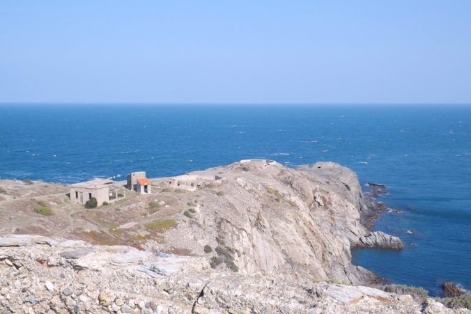 la pointe du cap bear au pied du phare
