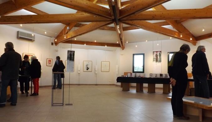 la salle d'exposition Bord de l'Autre a octon