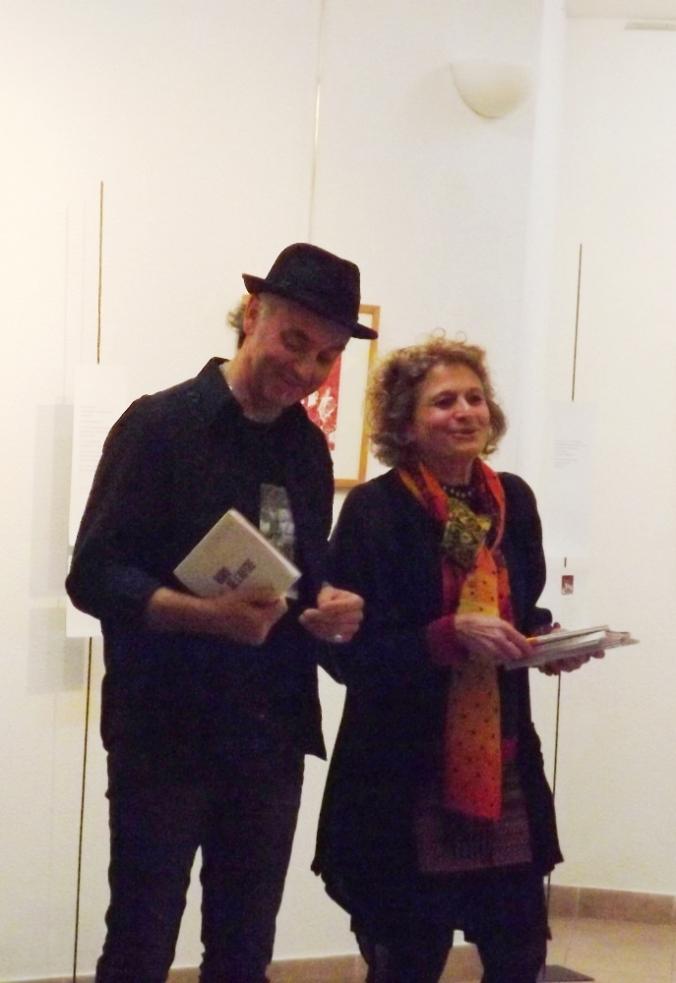 Laurence Bourgeois et Dani Freyssinet expo Bord de l'Autre a Octon