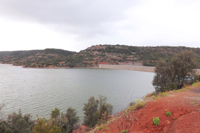 le barrage du lac du Salagou