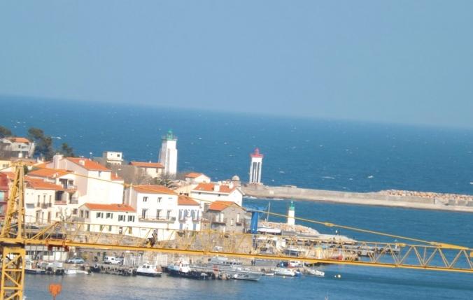 le port et les phares de Port-Vendres