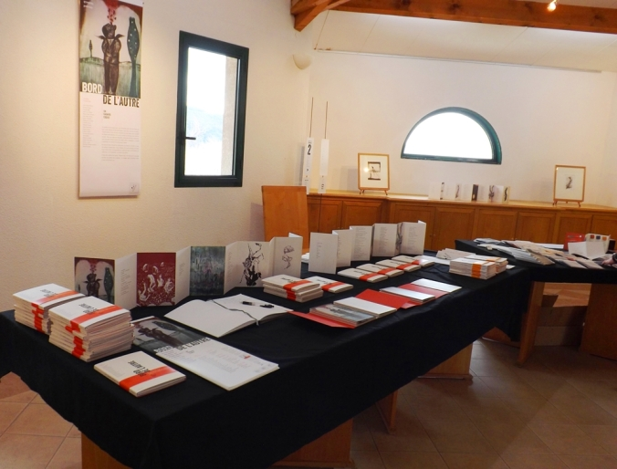 table de presentation du livre bord de 'autre octon