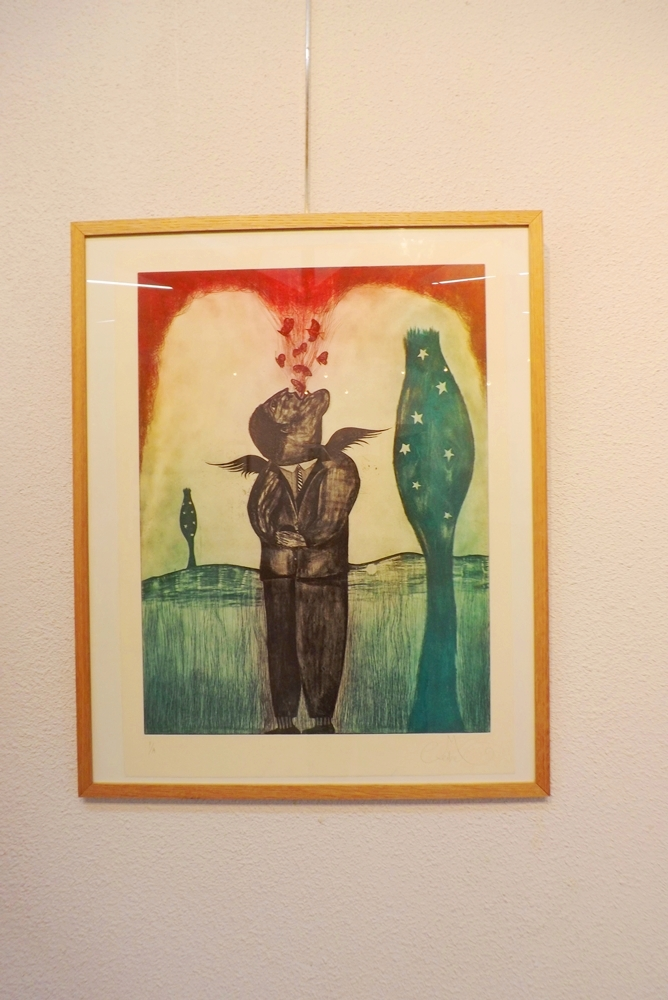 tableau de Juan Carlos Mestre
