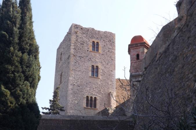 Tour du château de Collioure