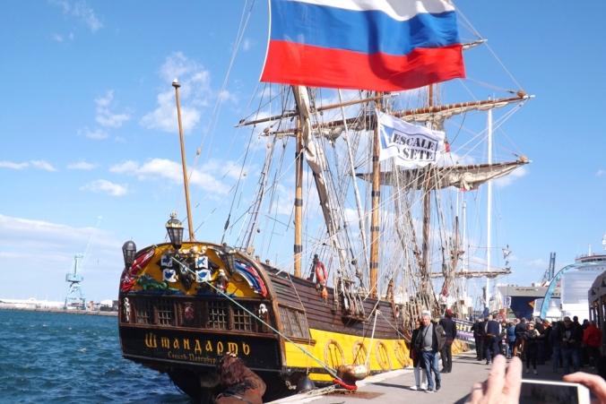 voilier russe escale a sete