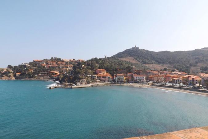 vue depuis le chateau de Collioure