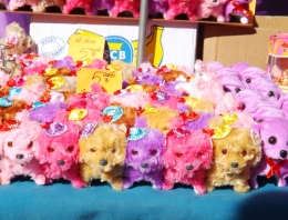 jouets sur le marche de pezenas