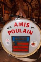 le tambour des Amis du Poulain Pezenas