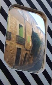 miroir de rue Pezenas