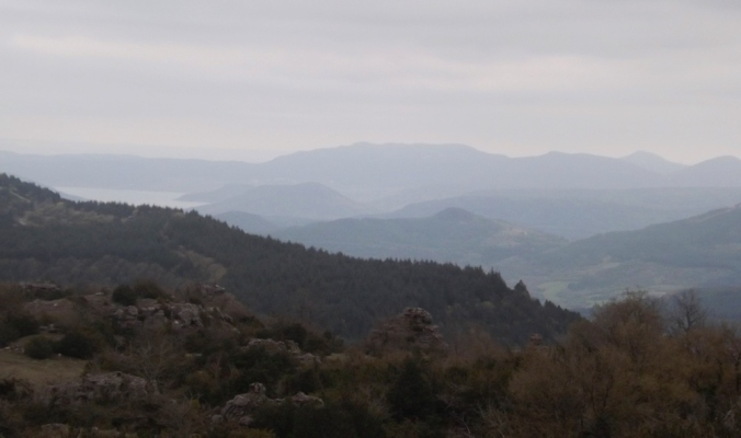 vue depuis le plateau de l'Escandorgue