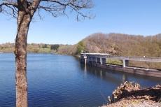 barrage du lac de pont de salars