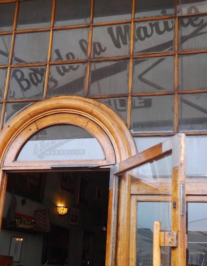 bar de la Marine vieux Port Marseille
