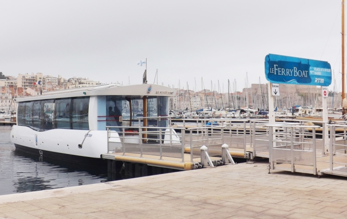 ferry boat marseille vieux port