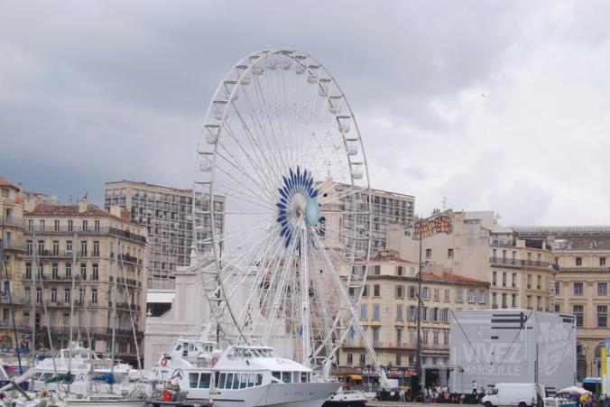 grande roue marseille vieux port