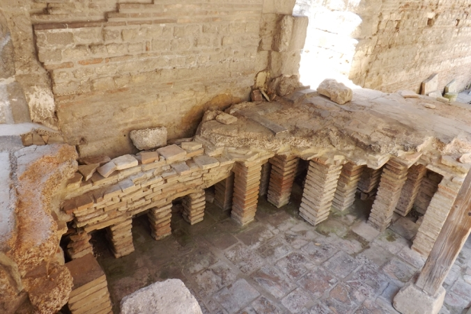 hypocauste thermes arles