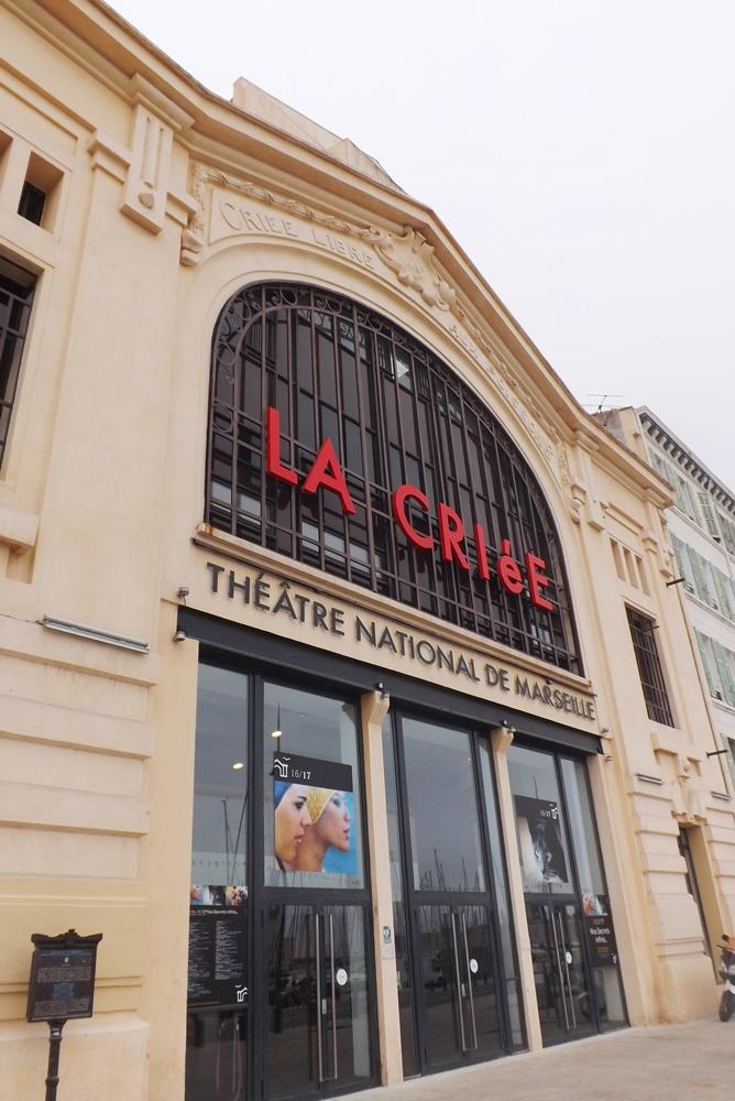 la criee marseille theatre