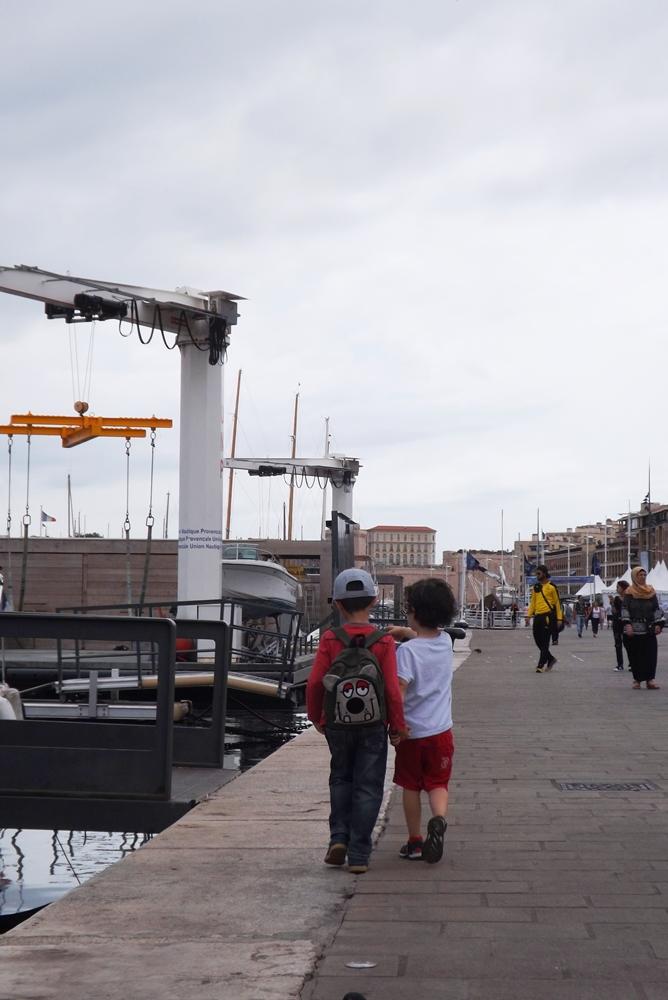 matthieu et eliott sur le vieux port