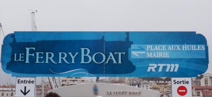 panneau ferry boat marseille