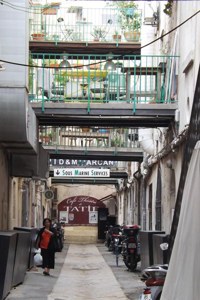 passage vieux port marseille