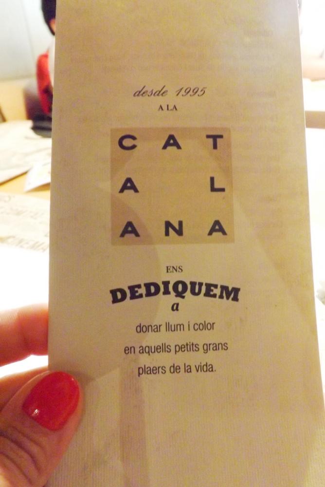 carte cerverceria catalana