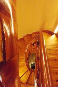 escalier casa batllo