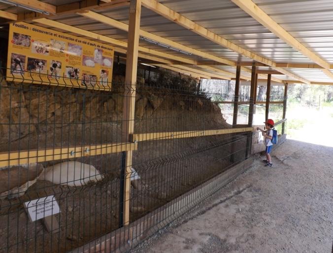 fouilles meze parc dino