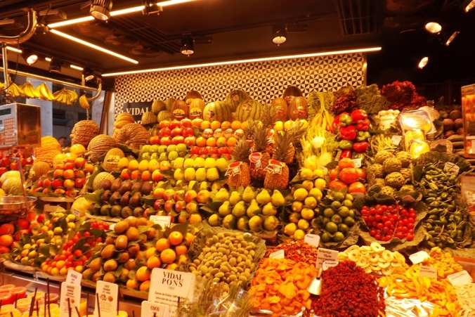 fruits boqueria