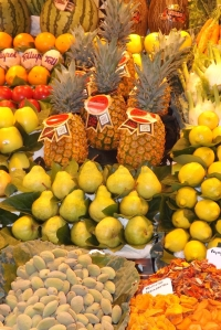 fruits mercat boqueria barcelone