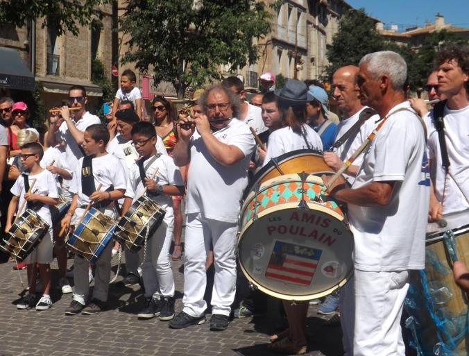 les musiciens du poulain de pezenas