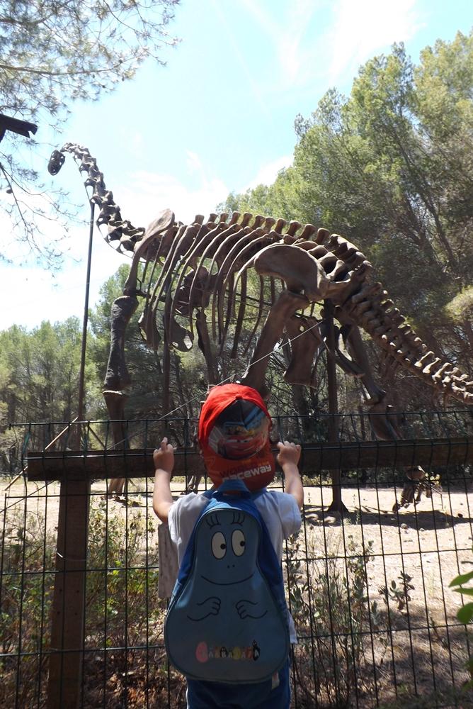 matthieu devant squelette dino meze