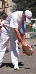 musicien danseur chevalet de pezenas
