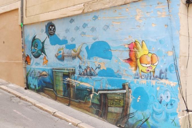 peinture murale les accoules marseille