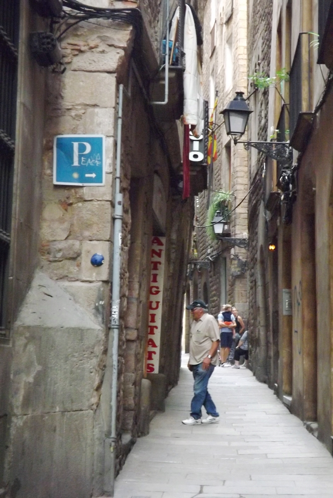 ruelle barri gotic