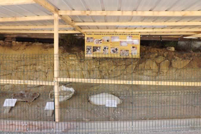 site de fouilles parc dino meze