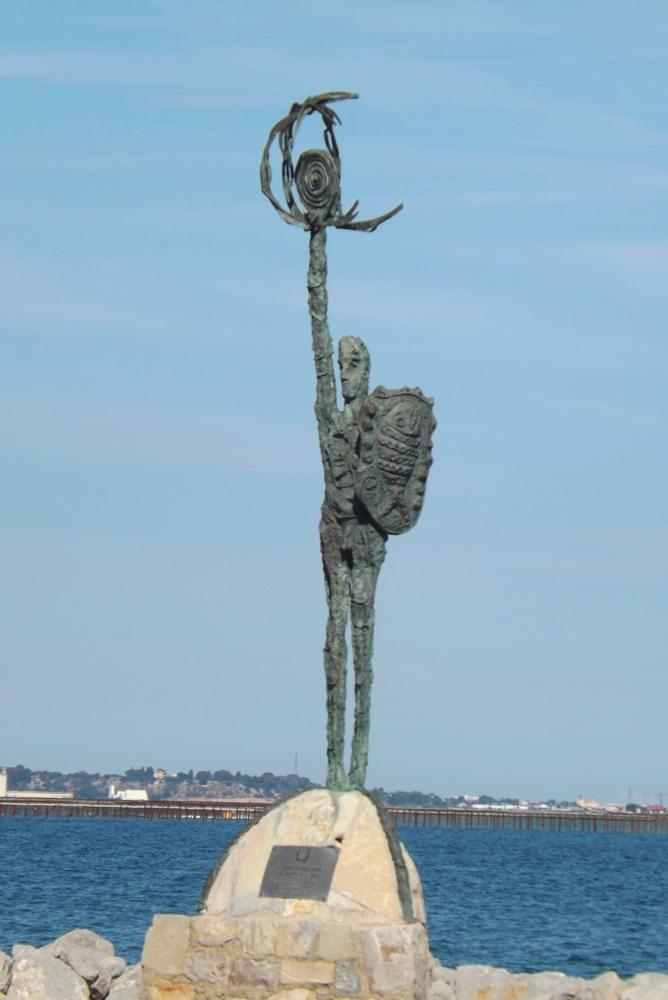 statue port des nacelles meze