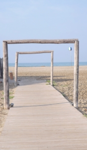perspective plage