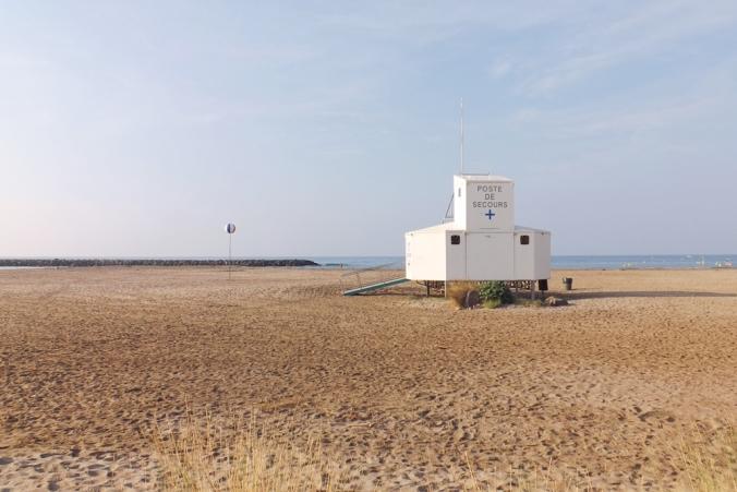 plage poste de secours