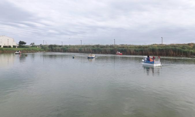 plan d'eau petits bateaux