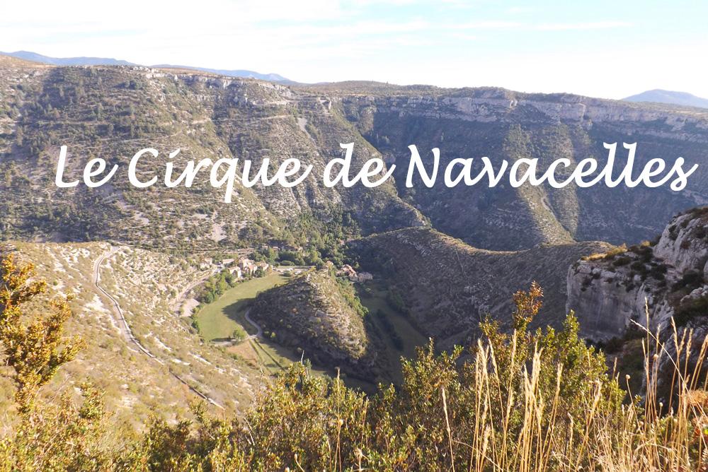 Du Haut Du Belvedere Pour Admirer Le Cirque De Navacelles Veritable
