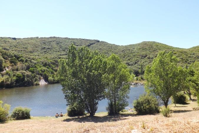 le-lac-de-vailhan-olivettes-cote-parking-paillote