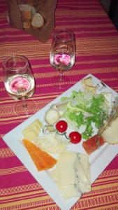 assiette froide fromages les marronniers